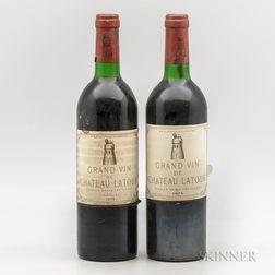 Chateau Latour, 2 bottles
