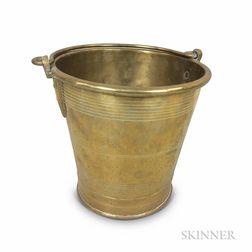 Early Brass Bucket