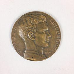 Charles Lindbergh/Spirit of St. Louis Bronze Medal