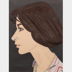 Alex Katz (American, b. 1927)      Susan