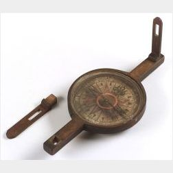 Rare Surveying Compass by Daniel King