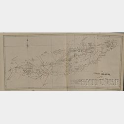 Four Engraved Maps of the Virgin Islands