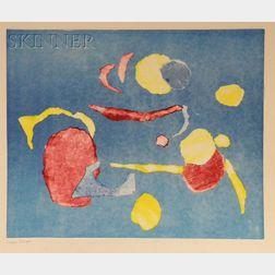 Jayne E. Dwyer (American, 1928-2006)      Lot of Six Abstract Prints