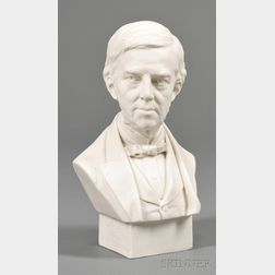 Parianware Bust of Oliver Wendell Holmes