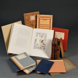 Vigil of Venus and Thomas Parnell (1679-1718), Seventeen Volumes:
