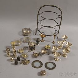 Group of Mostly American Sterling Silver Tableware