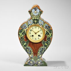 Rozenberg Pottery Mantel Clock