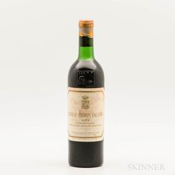Chateau Pichon Lalande 1971, 1 bottle