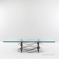 Silas Seandel (b. 1937) Ribbon Coffee Table