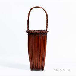 Bamboo Ikebana Basket
