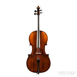 Markneukirchen Cello, Ludwig Glaesel II, Markneukirchen, 1926