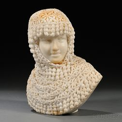 Marble Bust of a Woman