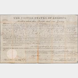 Jackson, Andrew (1767-1845) Document Signed, 10 November 1830.