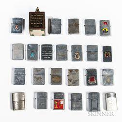 Group of Vietnam-era Lighters