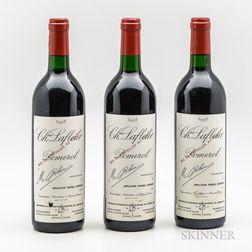 Chateau Lafleur 1992, 3 bottles