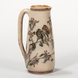Martin Brothers Stoneware Pitcher