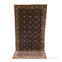 Indo-Sarouk Long Rug