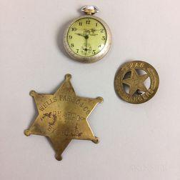 Three Decorative Metal Items