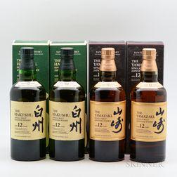 Suntory, 4 750ml bottles (oc)
