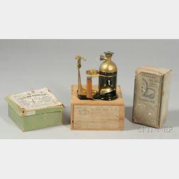 Three Aspirators and a Respirator in Original Boxes