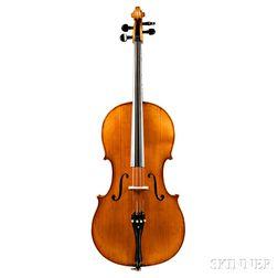 Markneukirchen Cello, Johannes Brueckner, c. 1920
