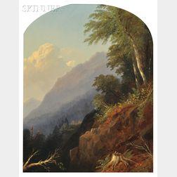 Alfred Thompson Bricher (American, 1837-1908)      Catskill Scenery