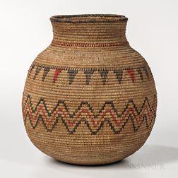 Apache Polychrome Coiled Jar