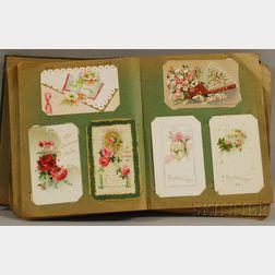 Early 20th Century Postcard Album