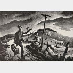 Thomas Hart Benton (American, 1889-1975)      The Boy