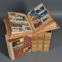 Scrapbooks, Five Volumes: 1896, 1897, 1900, 1925, and 1927.