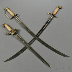 Three Eagle-pommel Swords