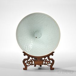 Qingbai White-glazed Ding Bowl