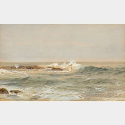 William Trost Richards (American, 1833-1905)      Seascape