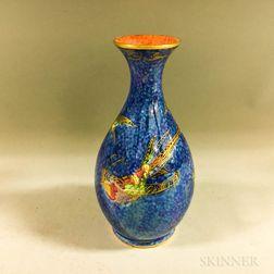 Wedgwood Hummingbird Lustre Bud Vase