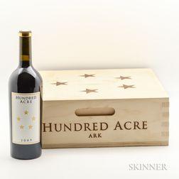 Hundred Acre Ark 2009, 3 bottles (owc)
