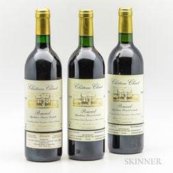 Chateau Clinet, 3 bottles