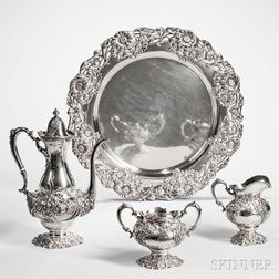 Four-piece Mauser Sterling Silver Coffee Service