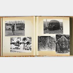 Craver, Margret (1907-2010) and C.C. Withers. Two Travel Photo Albums: England and Mexico.