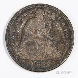 1865 Seated Liberty Dollar