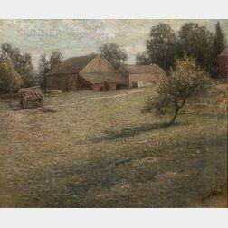 John Ferguson Weir (American, 1841-1926)      The Farm, Branchville, CT