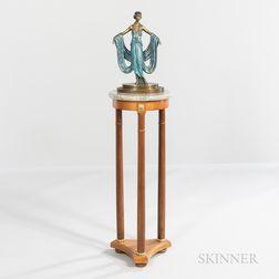 Romain De Tirtoff, called Erté (Russian, 1892-1990) Gala   Bronze with Plinth