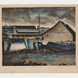 Samuel Margolies (American, 1897-1974)      Eaton's Landing