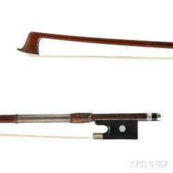 German Silver mounted Violin Bow