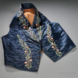 Embroidered Silk Gentleman's Vest
