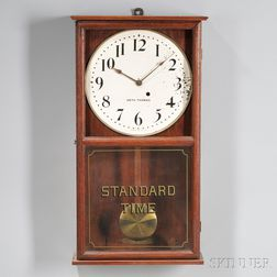 "Seth Thomas ""Standard Time"" Wall Clock"