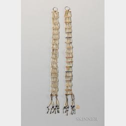 Sioux Dentilium Earrings