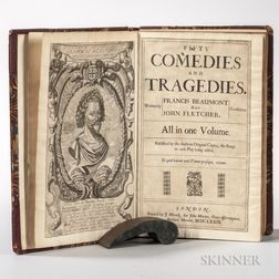 Beaumont, Francis (1584-1616) and John Fletcher (1579-1625) Fifty Comedies and Tragedies.