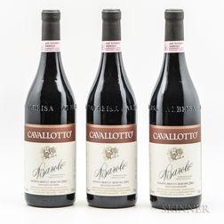Cavallotto Barolo Bricco Bochis Riserva 2001, 3 bottles