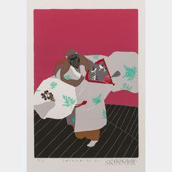 Masaaki Tanaka (b. 1947), Four Silkscreen Prints