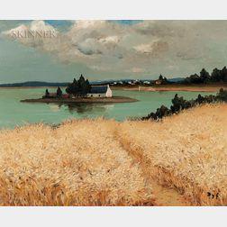 Marcel Dyf (French, 1899-1985)      Ile dans le golfe du Morbihan